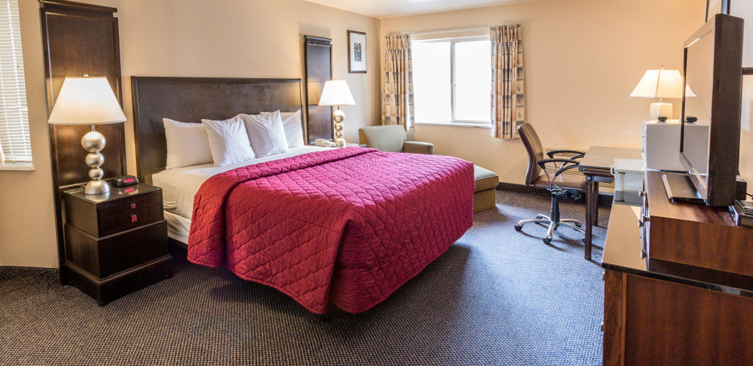 OUR SPACIOUS, CLEAN, AND COMFORTABLE ACCOMMODATIONS OFFER PREMIUM HOTEL AMENITIES IN EAST WENATCHEE, WASHINGTON